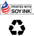 Soy Ink Recycled logos